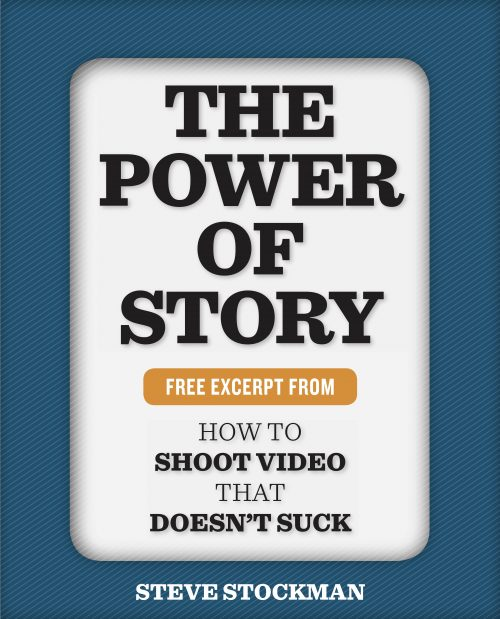 """Cover of """"The Power of Story"""" by Steve Stockman"""